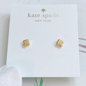 Kate Spade Peach Heart Earrings
